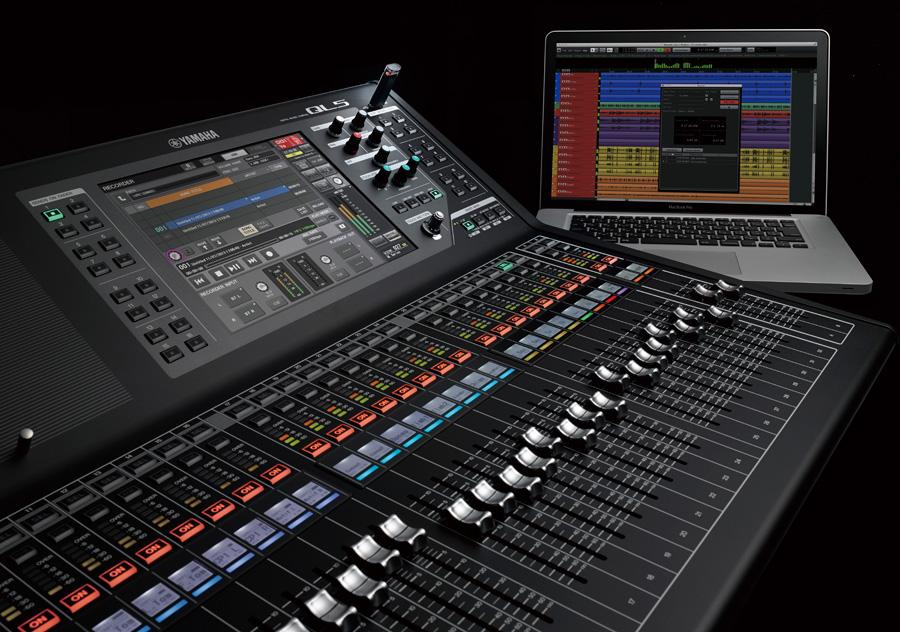 La console ql5 yamaha agrandit le parc sonorisation xeos for Table de mixage yamaha 6 pistes